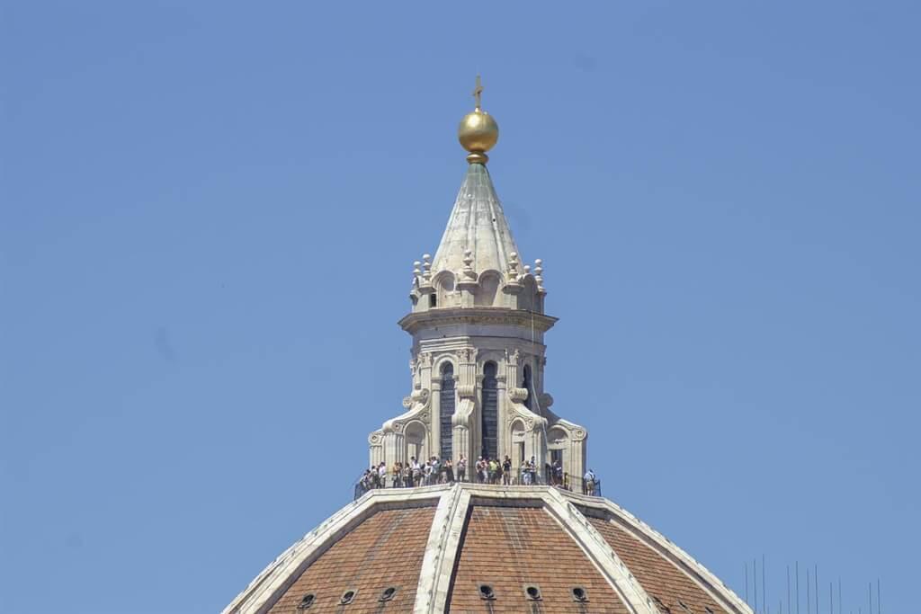 Der Ausblick von der Domkuppel in Florenz lohnt sich © Siegbert Mattheis