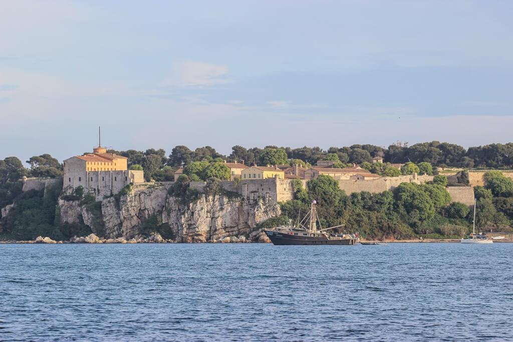 Blick auf das Fort auf Sainte Marguerite © Siegbert Mattheis