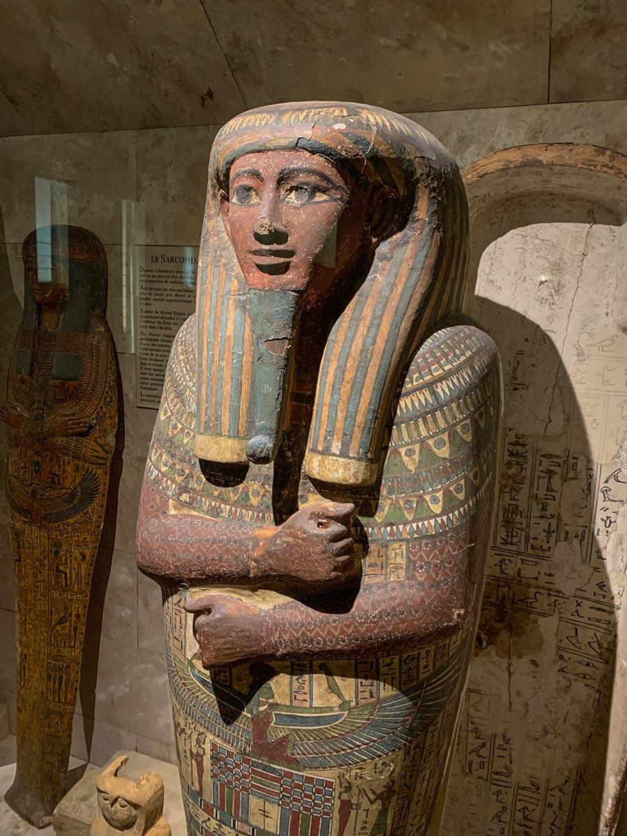 Ägyptische Stauten in der Dauerausstellung