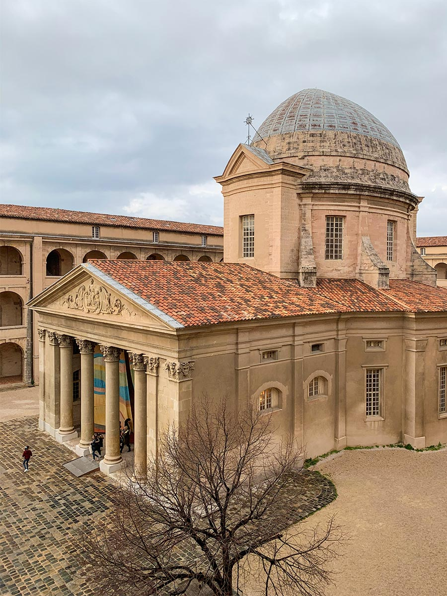Die barocke Kapelle im Innenhof der Vieille Charité