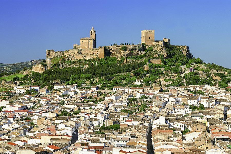Blick auf Alcalá la Real © Turespaña