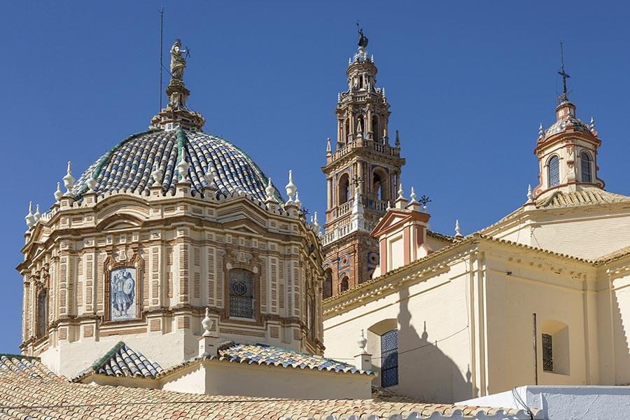 Kirche San Pedro Carmona, Sevilla © Turespaña
