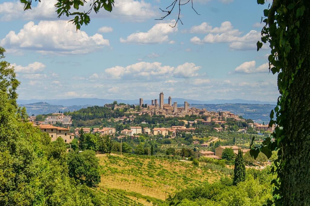 San Gimignano mit seinen Geschlechtertürmen © Siegbert Mattheis