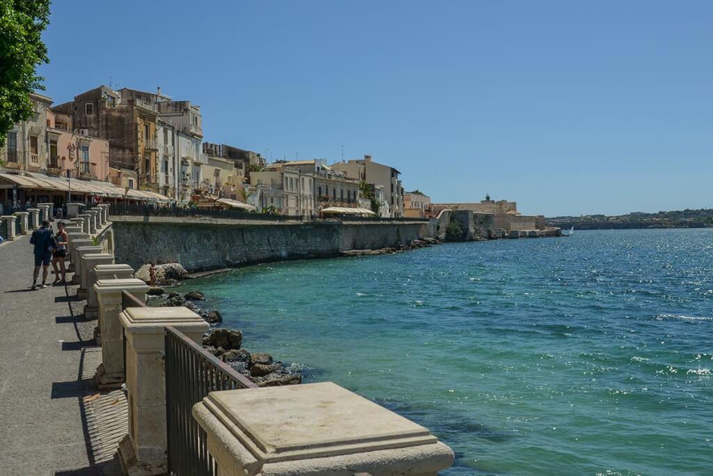 Die sehenswerte Halbinsel Isola di Ortigia in Siracusa auf Sizilien © Siegbert Mattheis