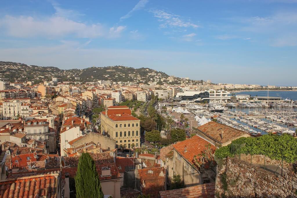 Schöner Blick auf Cannes von der Église Notre Dame d'Esperance aus © Siegbert Mattheis