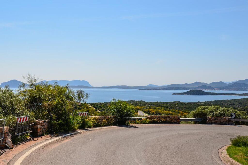 Blick auf die Costa Smeralda auf Sardinien © Siegbert Mattheis