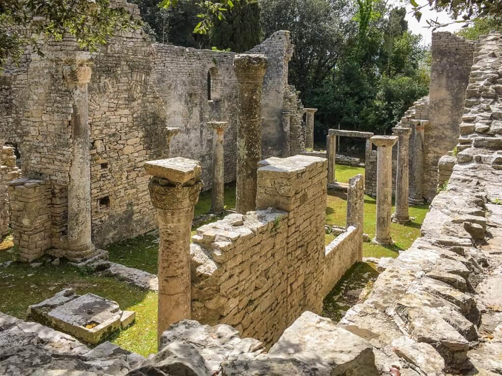 Die Ruinen der Basilika St. Maria © Siegbert Mattheis