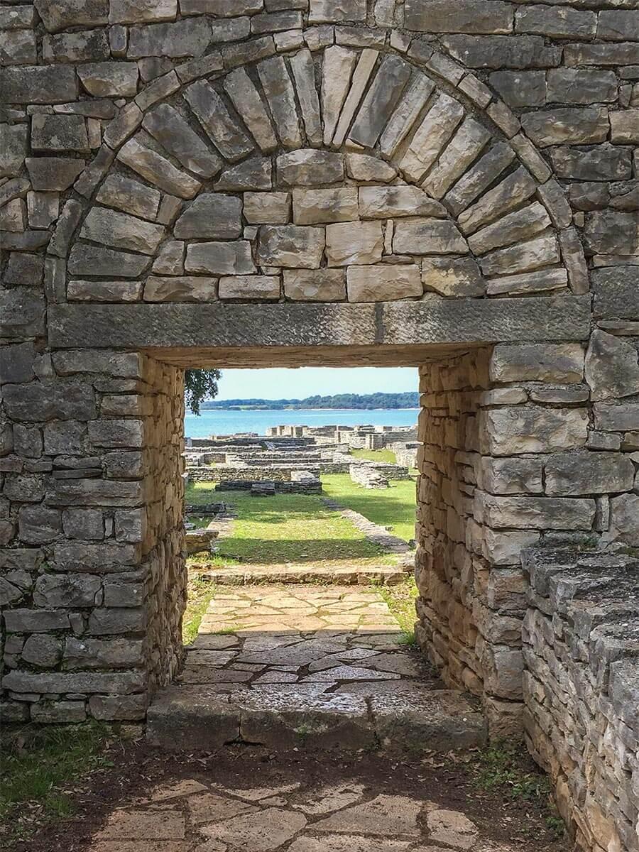 Blick auf das byzantinische Castell © Siegbert Mattheis