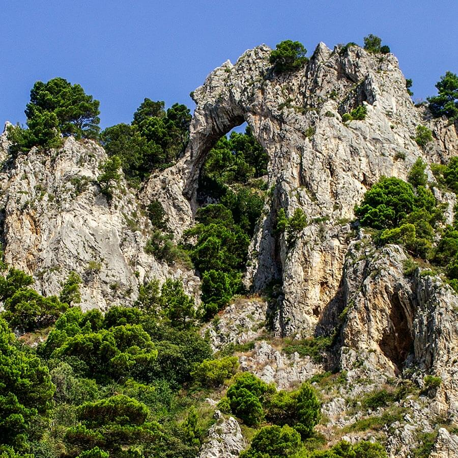 Der steinerne Bogen Arco Naturale ähnelt einem Elefantenkopf © Siegbert Mattheis