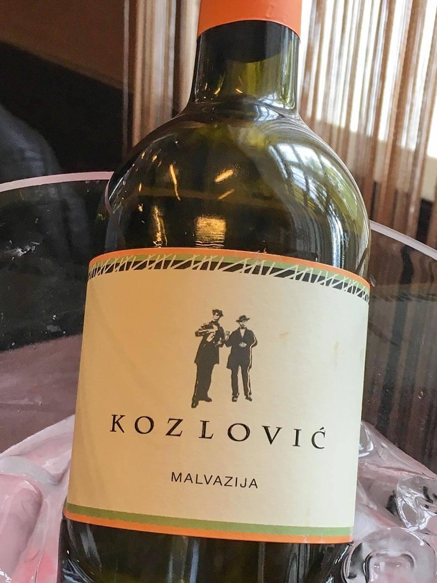 Uns hatte der Kozlovic-Malvazija wunderbar gemundet © Claudia Mattheis