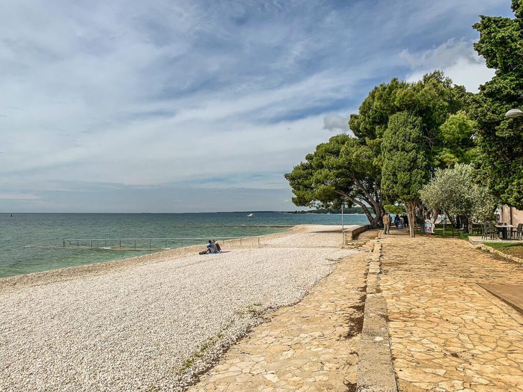 San Lorenzo Strand von Fažana © Siegbert Mattheis