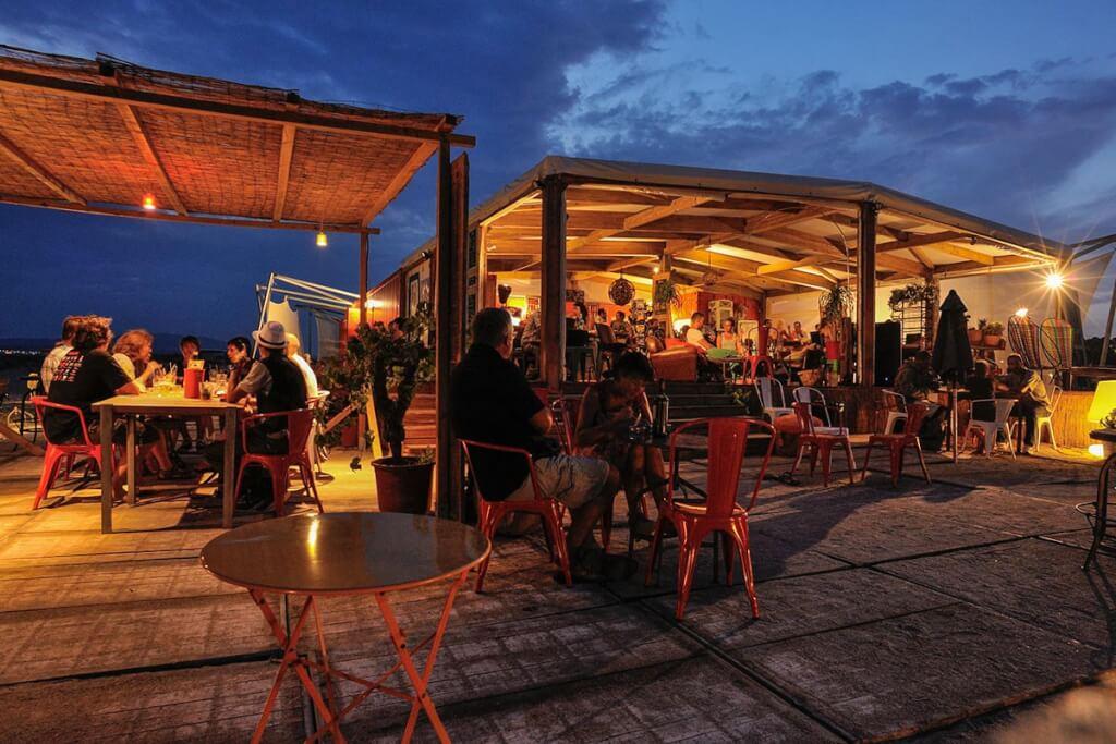 Strandrestaurant Le Poulpe © Jean Belondrade
