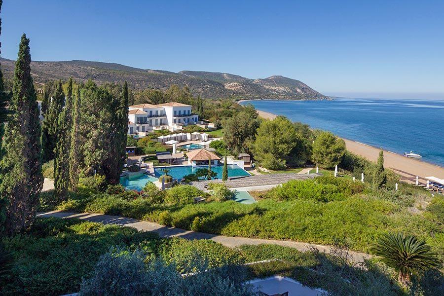 Luxus fernab der Massen im Anassa Hotel, mitten in einem parkähnlichen Garten © INTOSOL Holdings PLC