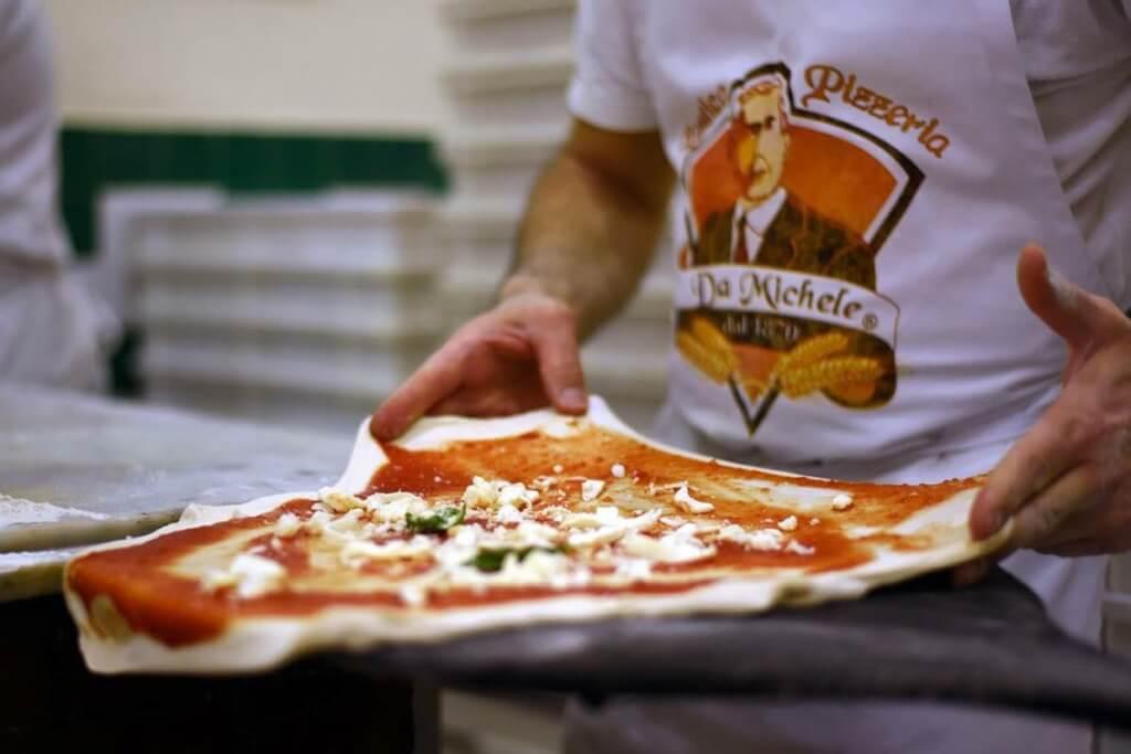 Pizza bei da Michele © Pizzeria da Michele