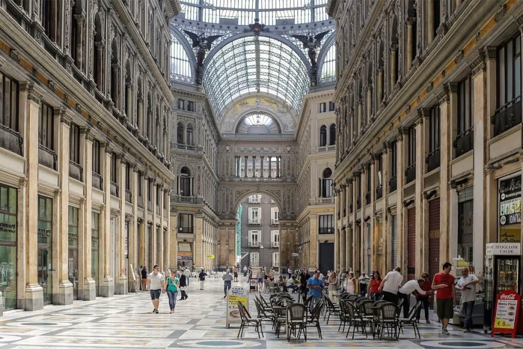 Shopping Mall Galleria Umberto I © Siegbert Mattheis