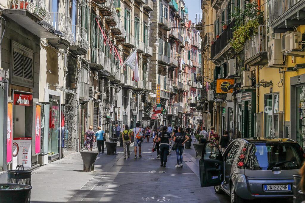 Modestraße Via Chiaia © Siegbert Mattheis
