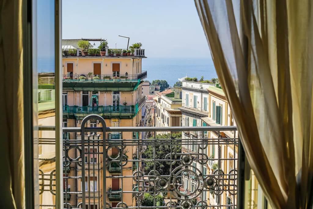 Blick aus der Villa Margherita © Siegbert Mattheis
