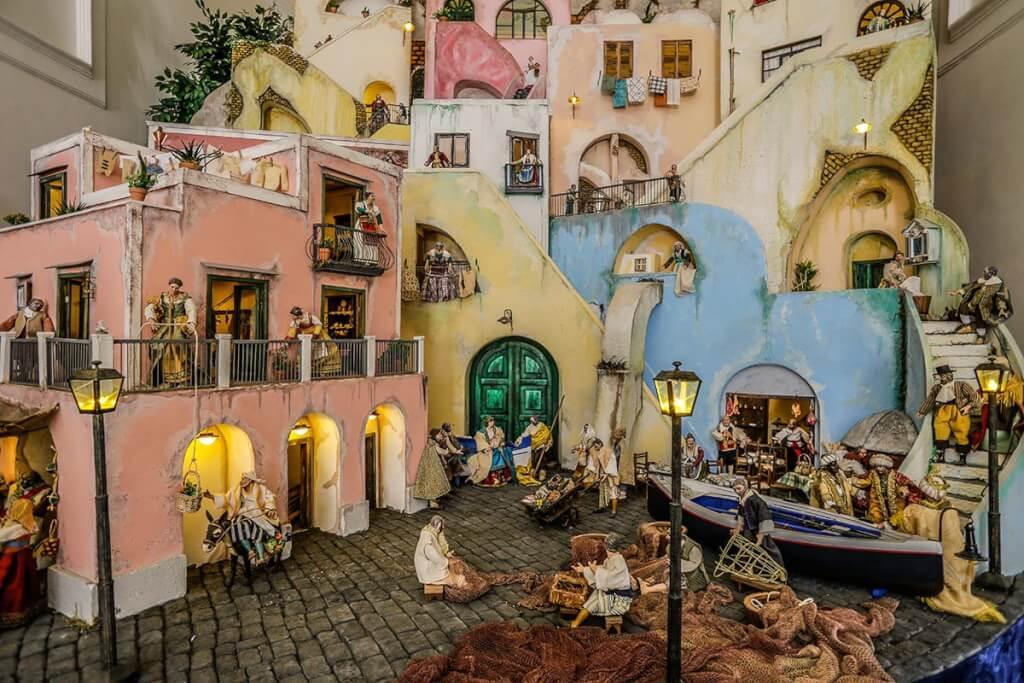 In der kleinen Kirche Santa Margherita Nuova gibt es Procida noch einmal in Miniatur © Siegbert Mattheis