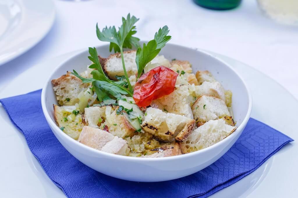 Typisches Gericht auf Procida: U' pesc fiùto © Siegbert Mattheis