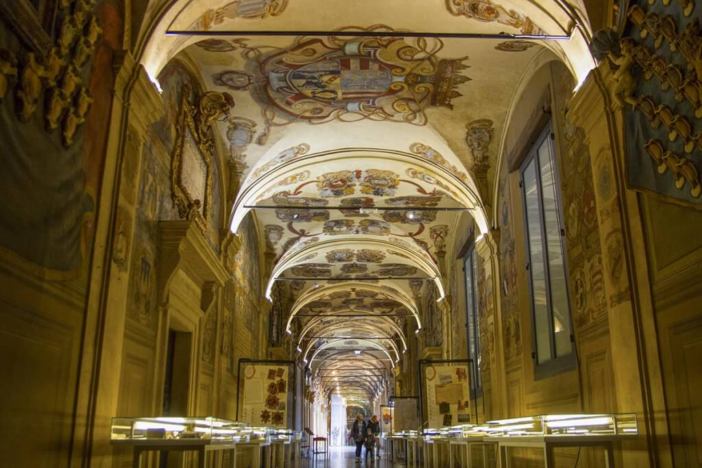Das Innere der ältesten Universität Europas © Bologna Welcome