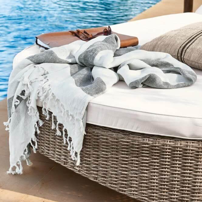 Mediterranes Urlaubsgefühl mit Hamamtuch