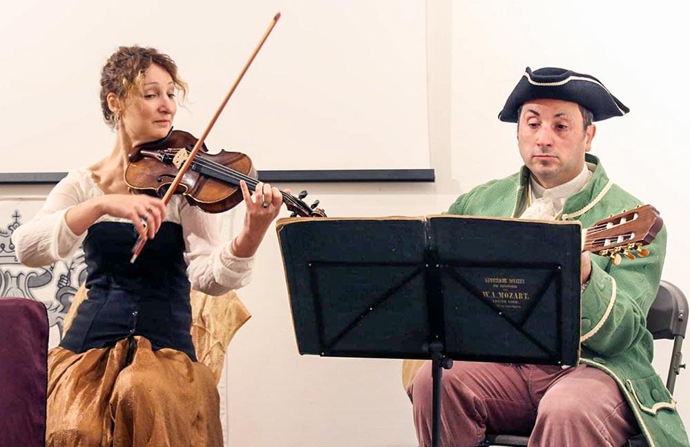 Konzert in historischen Kostümen © OT Calvi-Balagne