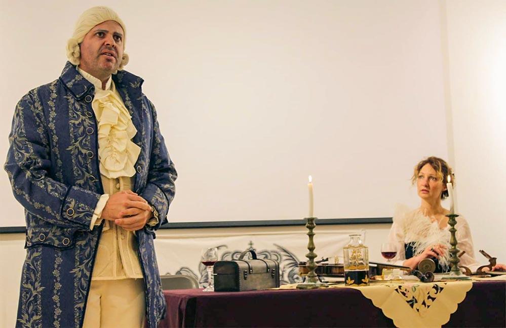 Theaterstück auf den Spuren Napoleons