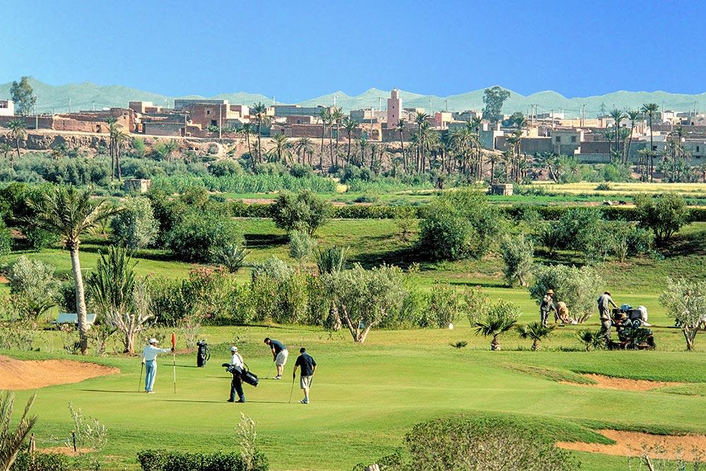 Golfen Marokko, Amelkis Golfplatz in Marrakesch