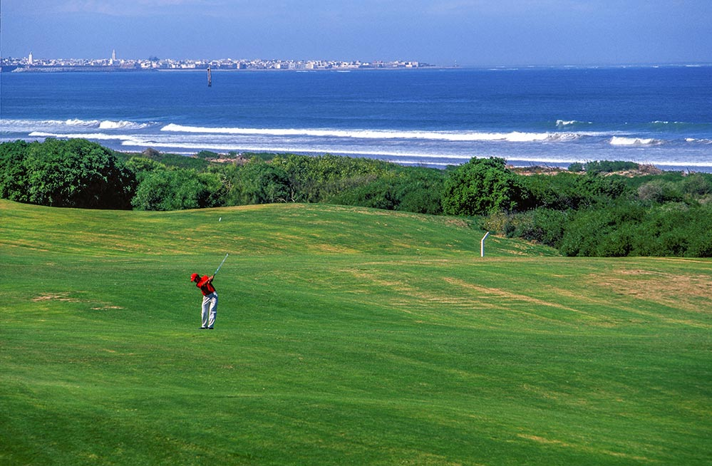 Golfen Marokko im Royal Golf d'El Jadida am Meer