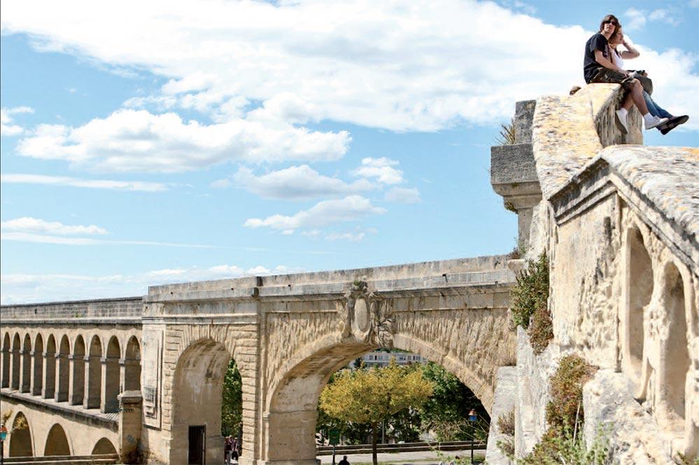 Der Aquädukt Sainte Clément © OT Montpellier