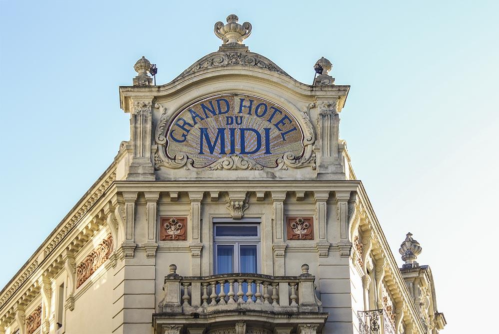Grand Hotel du Midi am Place de la Comédie © Siegbert Mattheis