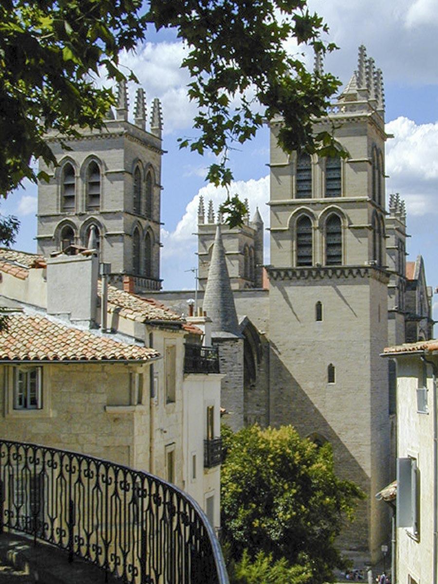 Kathedrale St. Pierre an der medizinischen Fakultät © OT Montpellier, F Binder