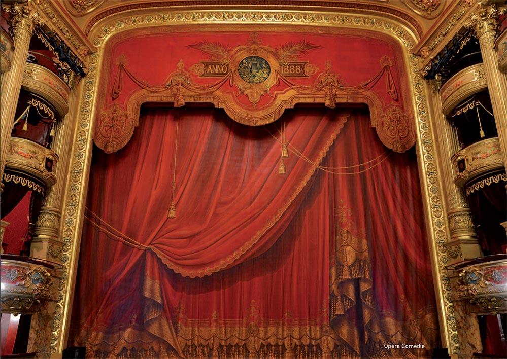 Das opulente Innere der Oper von 1888 © OT Montpellier