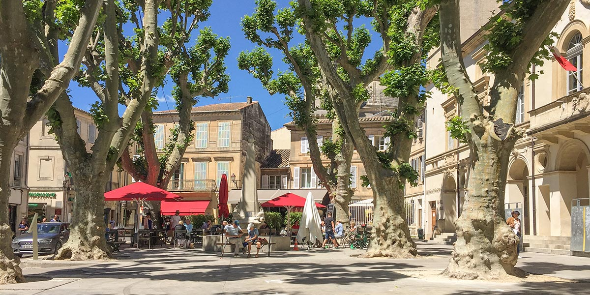 Marktplatz in Saint-Rèmy de Provence © Siegbert Mattheis