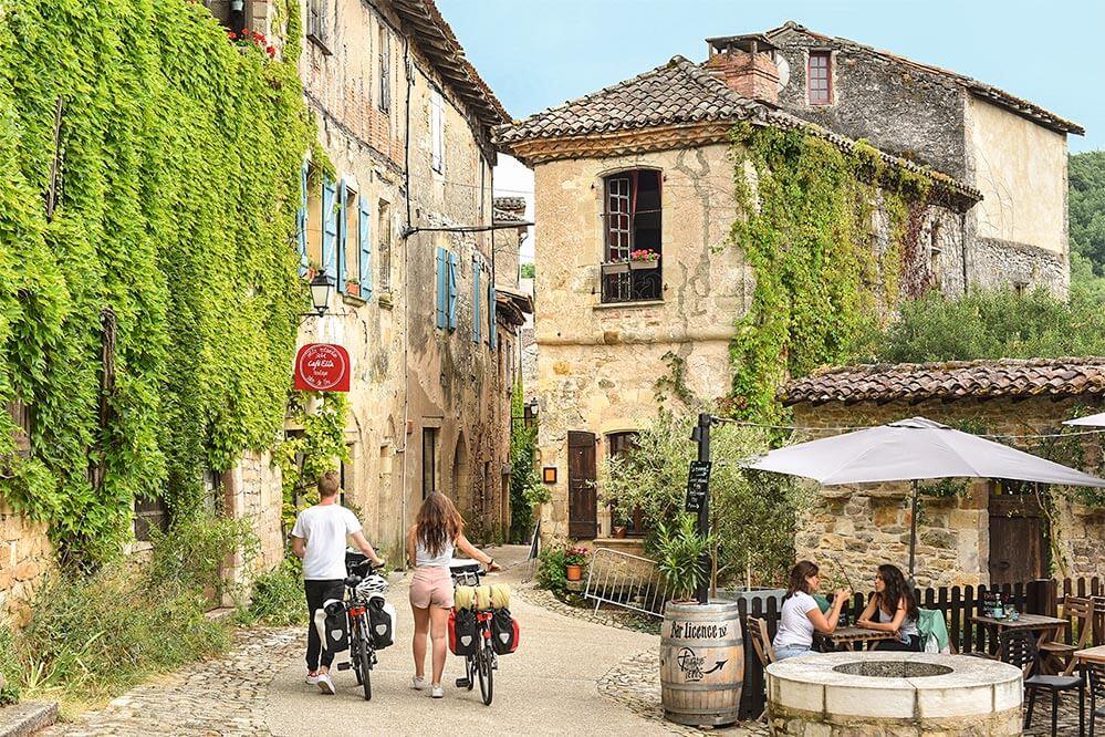 Bruniquel - Vallee de l'Aveyron © JDA