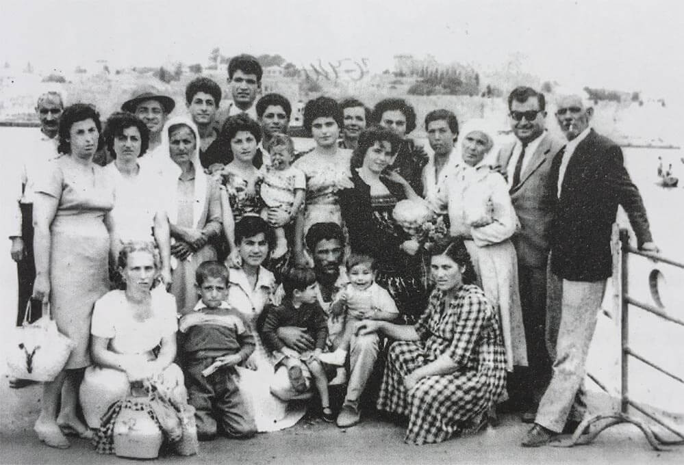 Aufgrund der großen Armut wanderten schon in den 1920er Jahren viele Familien aus © Folklore Museum