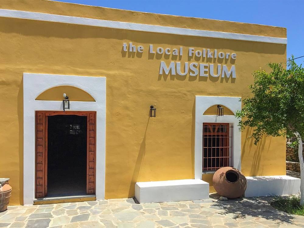 Das sehenswerte Folklore Museum in Lardos © Siegbert Mattheis