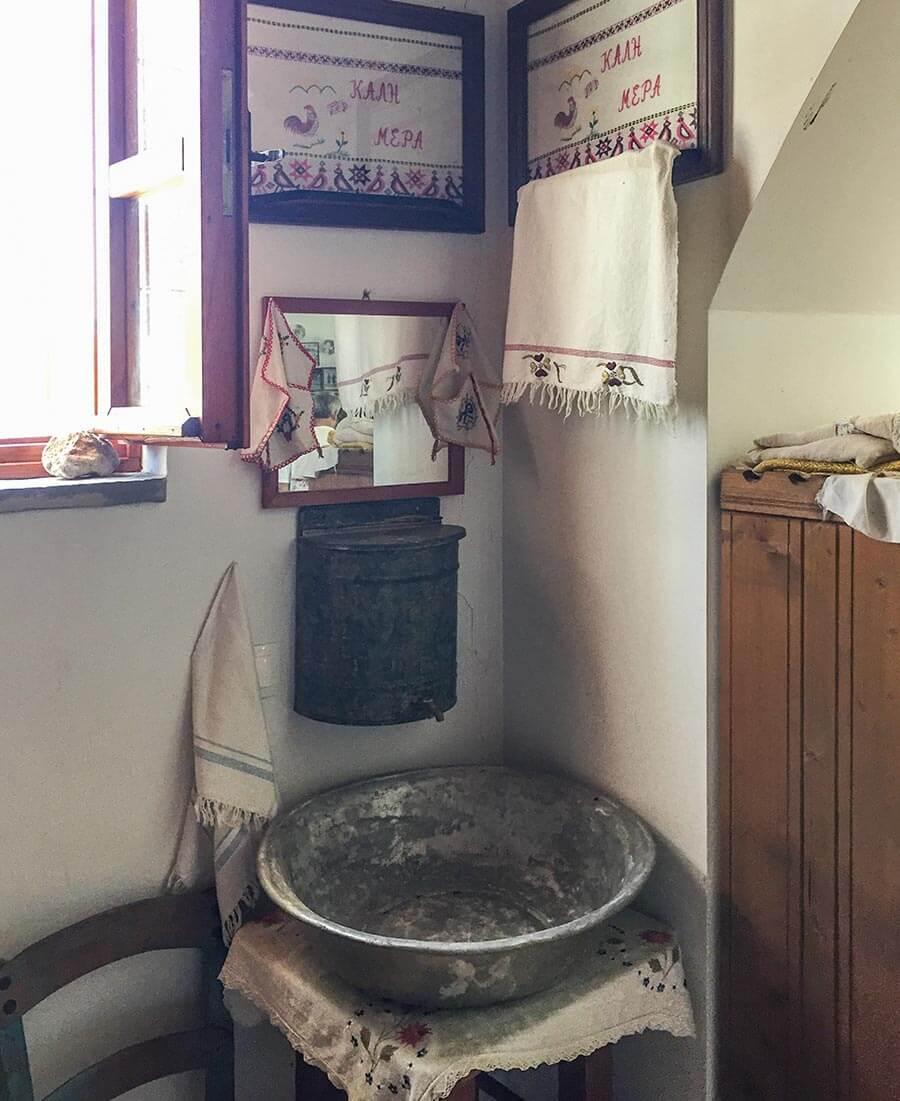 Typische Waschgelegenheit © Siegbert Mattheis