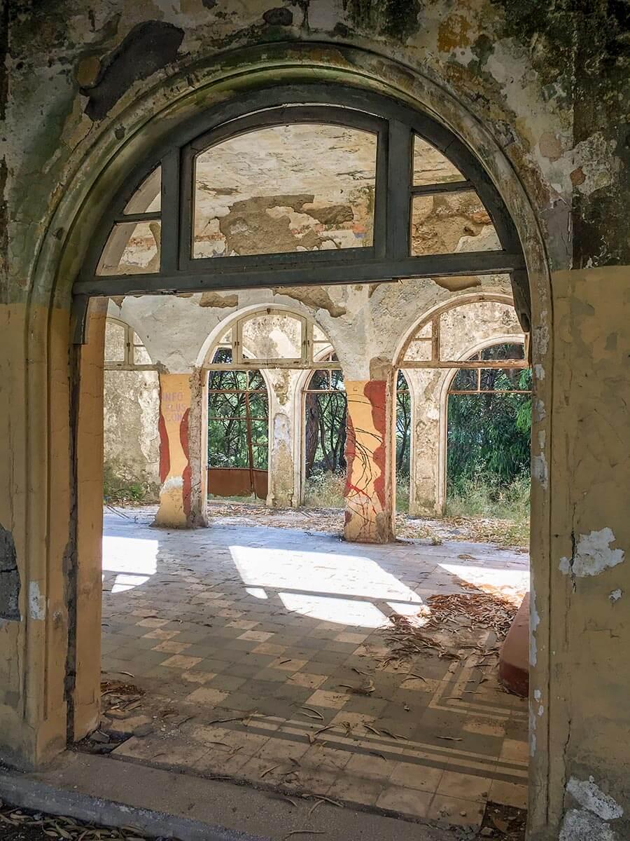 Reste der italienischen Siedlung Campochiaro © Siegbert Mattheis
