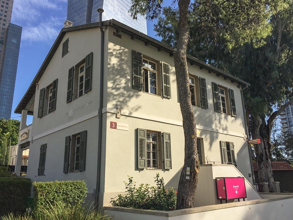 Typisches Haus in Sarona © Siegbert Mattheis