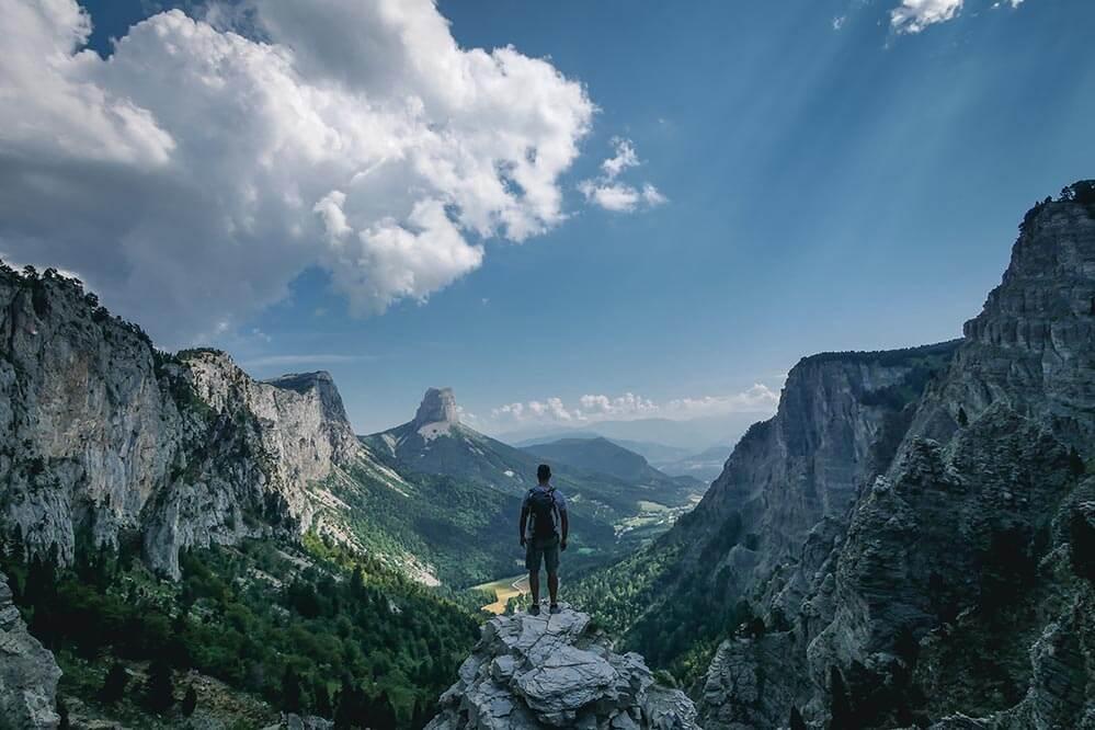 Blick auf den Mont Aiguille, © Trekking & Voyage