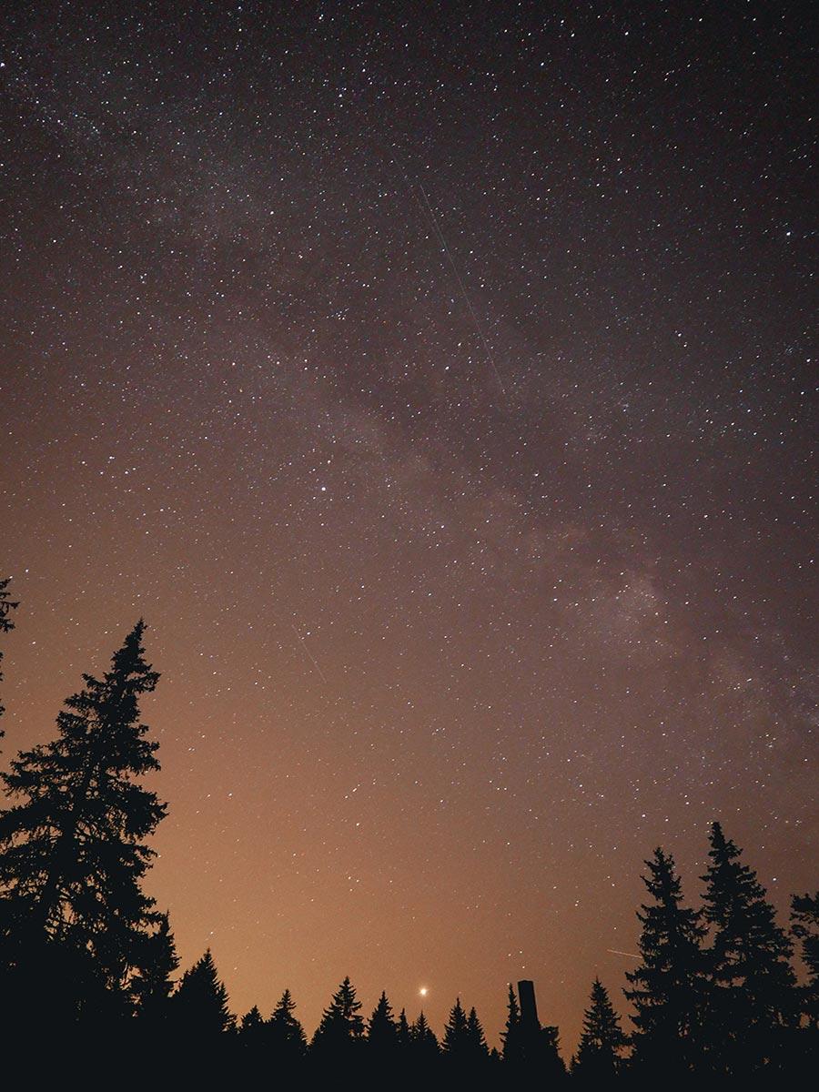 Sternenhimmel über dem Vercors, © Trekking et Voyage