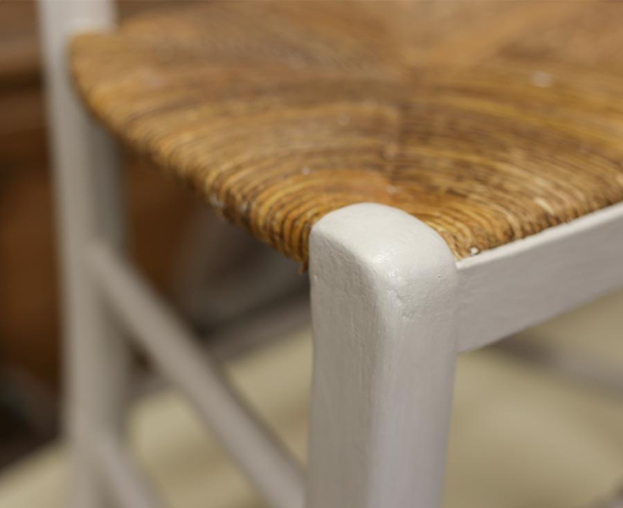 Provenzalischer Stuhl mit Espartogras bespannt © Siegbert Mattheis