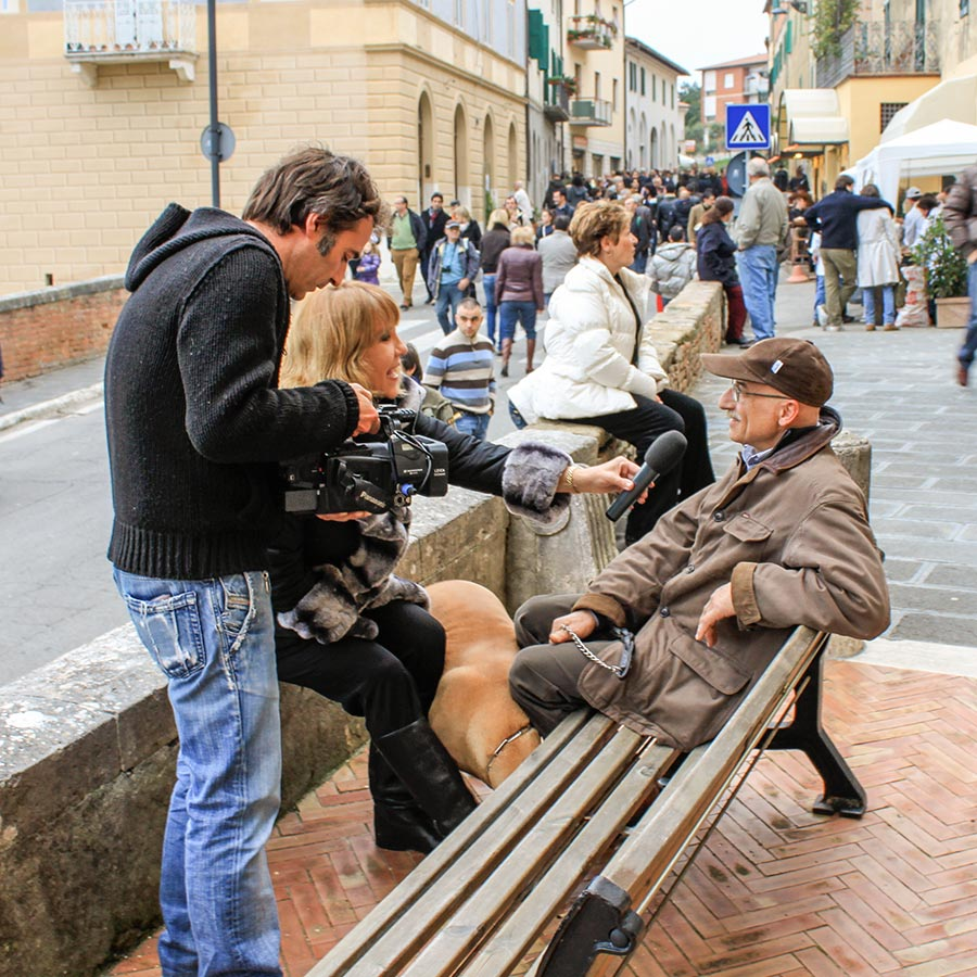 Das lokale Fernsehen ist dabei © Siegbert Mattheis