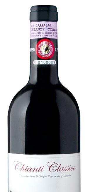 Flasche Chianti Classico