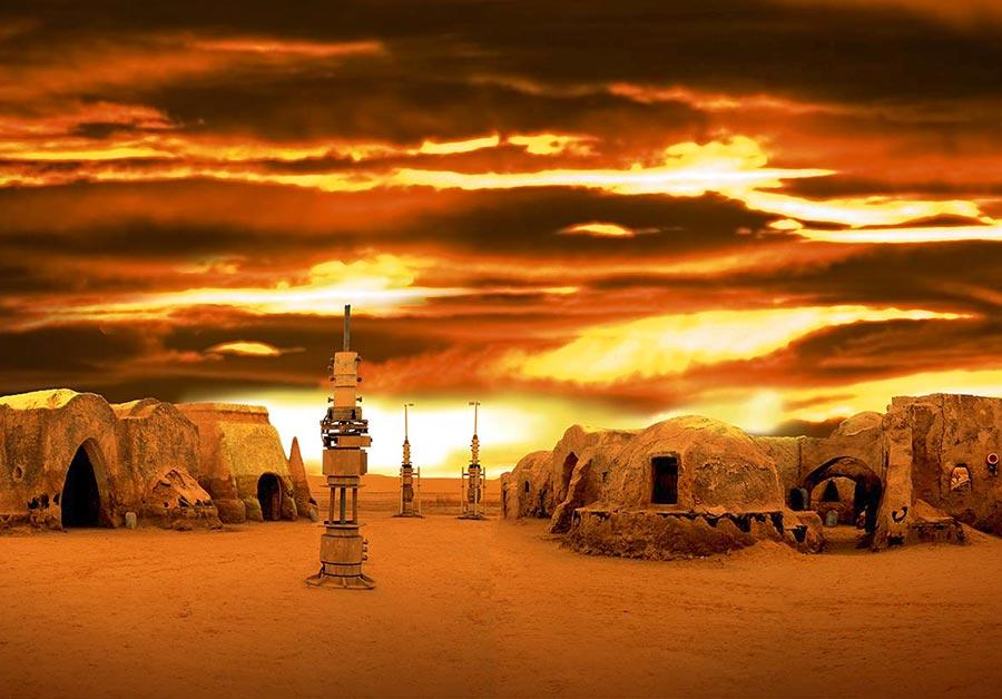 Drehort Tunesien Star Wars Kulisse