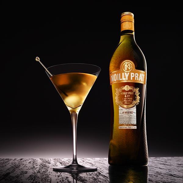 Cocktail Noilly Prat Ambré Vesper Martini