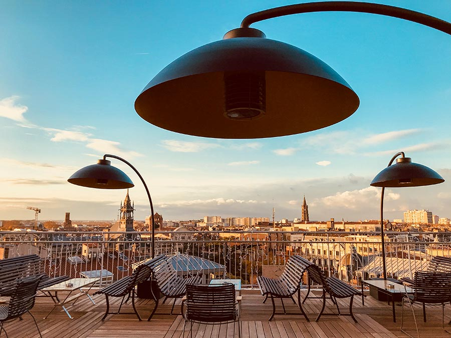 Rooftop-Restaurant Ma Biche sur le Toit © Ma Biche sur le Toit