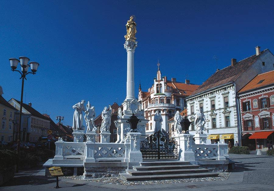 Maribor Marktplatz