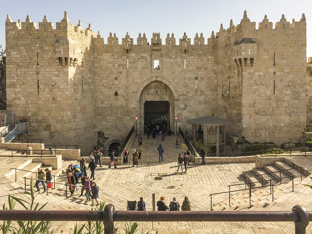 Das imposante Damaskus-Tor